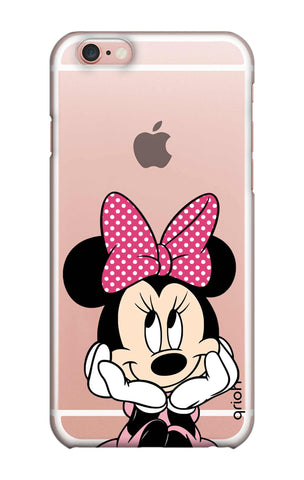 Minnie In Deep Thinking iPhone 6S Plus Cases & Covers Online