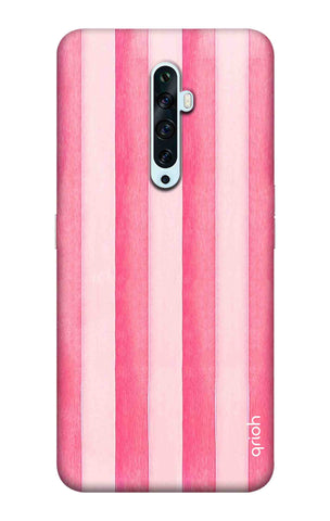 Painted Stripe Oppo Reno2 F Cases & Covers Online
