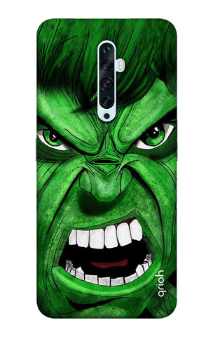 Angry Man Case Oppo Reno2 F Cases & Covers Online