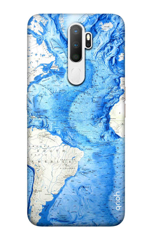 World Map Oppo A11 Cases & Covers Online
