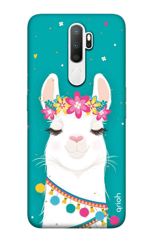 Cute Llama Oppo A11 Cases & Covers Online