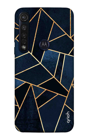 Abstract Navy Motorola Moto G8 Plus Cases & Covers Online