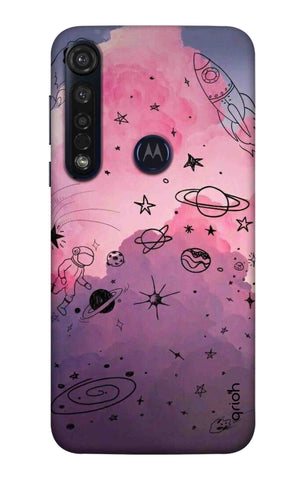 Space Doodles Art Motorola Moto G8 Plus Cases & Covers Online
