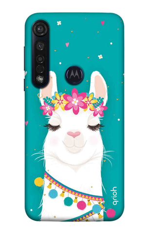 Cute Llama Motorola Moto G8 Plus Cases & Covers Online