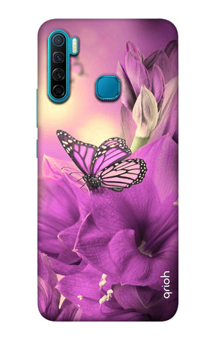 Purple Butterfly Infinix S5 Cases & Covers Online