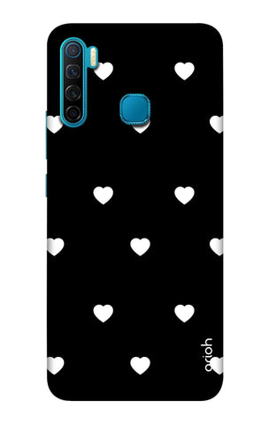 White Heart Infinix S5 Cases & Covers Online