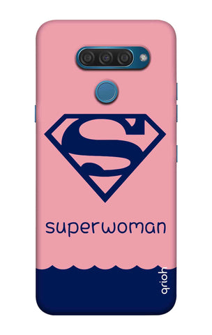 Be a Superwoman LG Q60 Cases & Covers Online