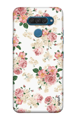 Floral Pattern LG Q60 Cases & Covers Online