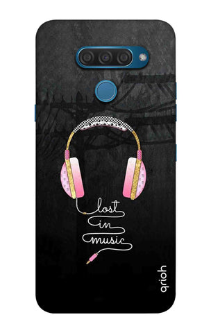 Lost In Music LG Q60 Cases & Covers Online