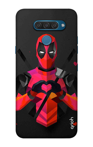 Valentine Deadpool LG Q60 Cases & Covers Online