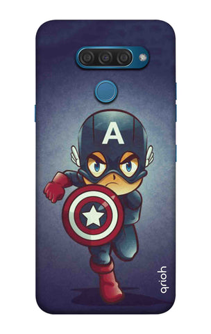 Toy Capt America LG Q60 Cases & Covers Online