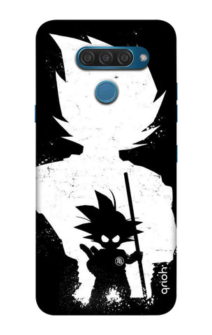 Goku Unleashed LG Q60 Cases & Covers Online