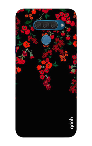 Floral Deco LG Q60 Cases & Covers Online