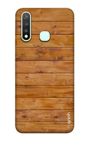 Natural Wood Vivo Y19 Cases & Covers Online
