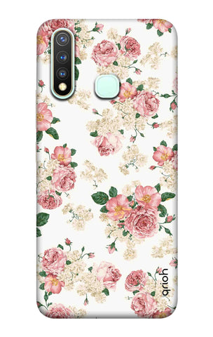 Floral Pattern Vivo Y19 Cases & Covers Online