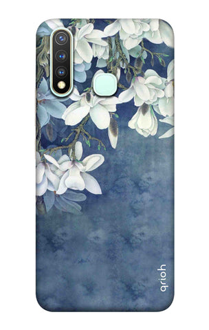White Flower Vivo Y19 Cases & Covers Online