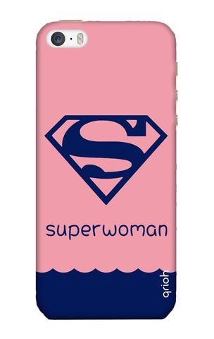 Be a Superwoman iPhone SE Cases & Covers Online
