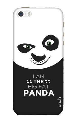 Big Fat Panda iPhone SE Cases & Covers Online