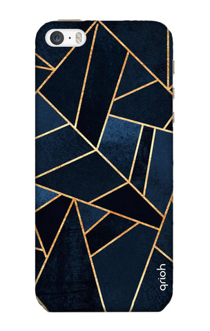 Abstract Navy iPhone SE Cases & Covers Online