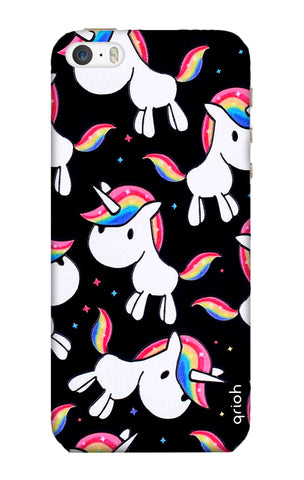 Colourful Unicorn iPhone SE Cases & Covers Online