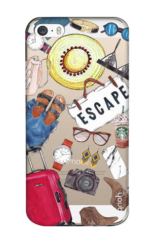 Travel Doodle iPhone SE Cases & Covers Online