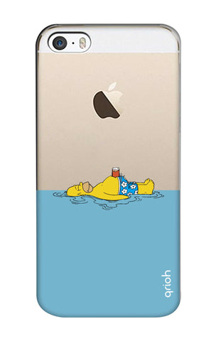 Simpson Chill iPhone SE Cases & Covers Online