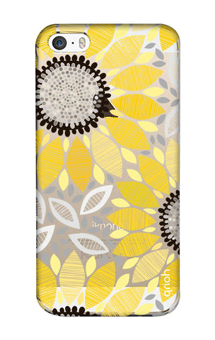 Stitched Floral iPhone SE Cases & Covers Online