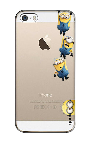Falling Minions iPhone SE Cases & Covers Online