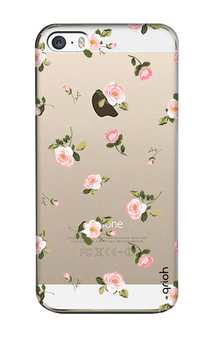 Pink Rose All Over iPhone SE Cases & Covers Online
