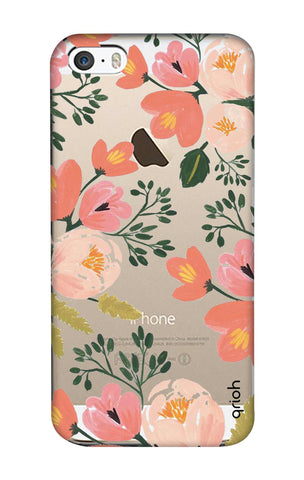 Painted Flora iPhone SE Cases & Covers Online