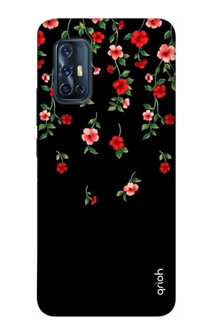 Floral Deco Case Vivo V17 Cases & Covers Online