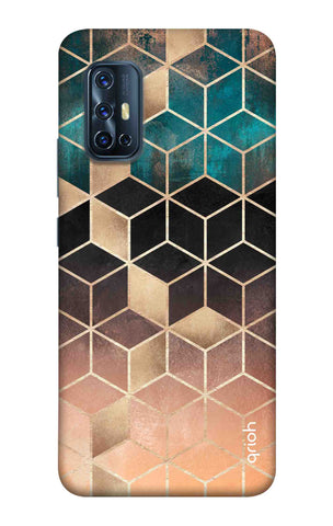Bronze Texture Case Vivo V17 Cases & Covers Online