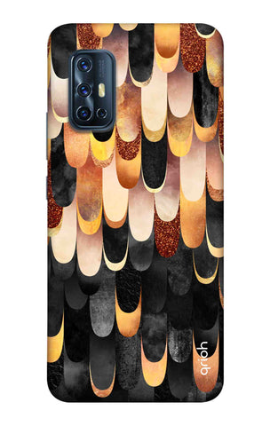 Bronze Abstract Case Vivo V17 Cases & Covers Online