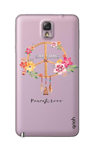 Peace And Love Samsung Note 3 Cases & Covers Online