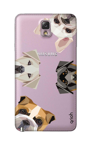 Geometric Dogs Samsung Note 3 Cases & Covers Online