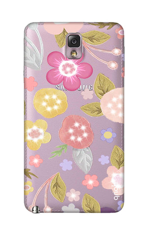 Multi Coloured Bling Floral Samsung Note 3 Cases & Covers Online