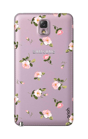 Pink Rose All Over Samsung Note 3 Cases & Covers Online
