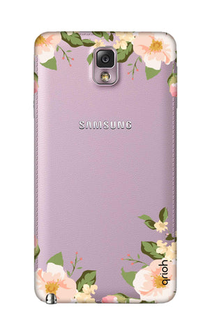 Flower In Corner Samsung Note 3 Cases & Covers Online