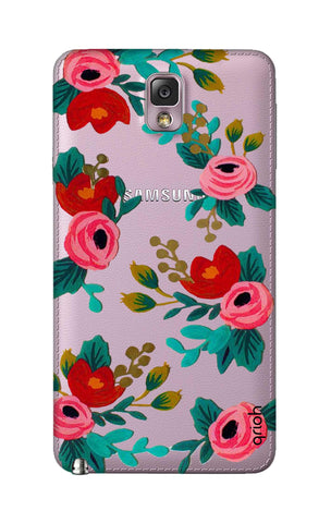 Red Floral Samsung Note 3 Cases & Covers Online