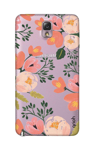 Painted Flora Samsung Note 3 Cases & Covers Online