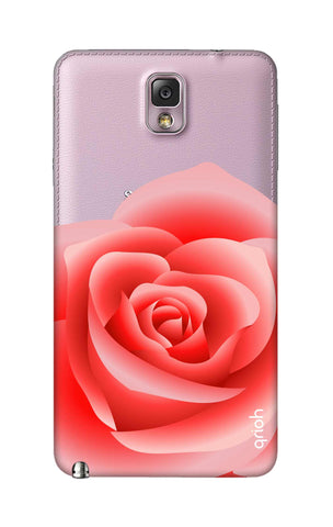 Peach Rose Samsung Note 3 Cases & Covers Online