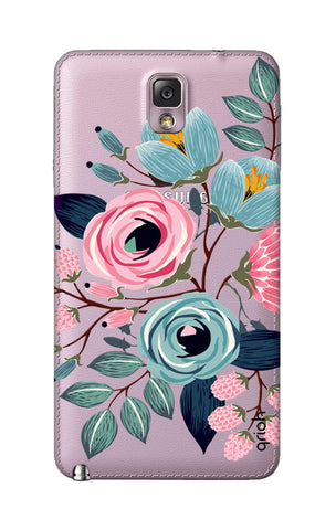 Pink And Blue Floral Samsung Note 3 Cases & Covers Online