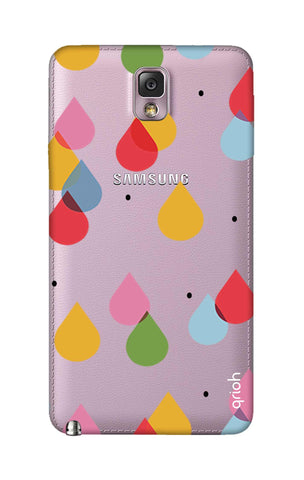 Colourful Drops Samsung Note 3 Cases & Covers Online