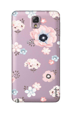 Beautiful White Floral Samsung Note 3 Cases & Covers Online