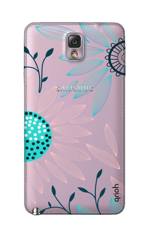 Pink And Blue Petals Samsung Note 3 Cases & Covers Online