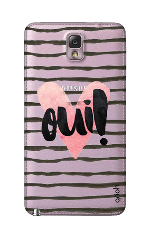 Oui! Samsung Note 3 Cases & Covers Online