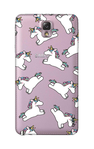 Jumping Unicorns Samsung Note 3 Cases & Covers Online