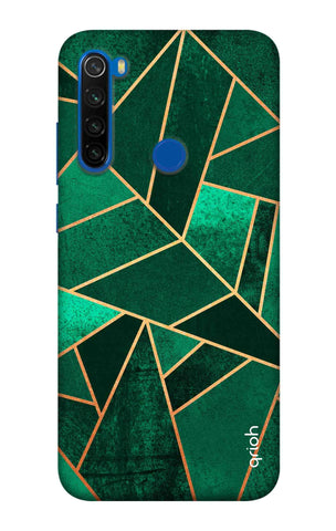Emerald Tiles Case Xiaomi Redmi Note 8T Cases & Covers Online