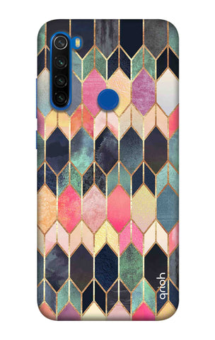 Colorful Brick Pattern Case Xiaomi Redmi Note 8T Cases & Covers Online