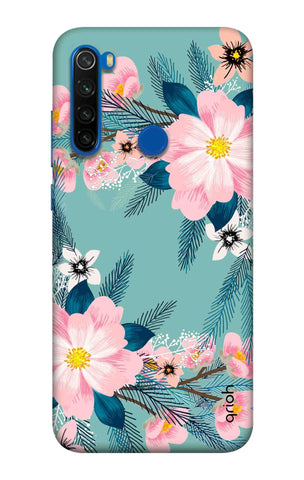 Graceful Floral Case Xiaomi Redmi Note 8T Cases & Covers Online